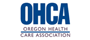 Logo for OHCA, the Oregon Health Care Association. Timberhill Place is a member of OHCA.